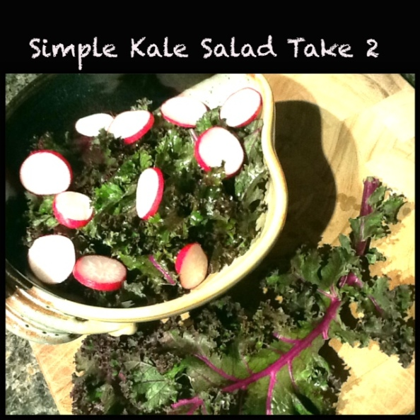 Simple Kale Salad - cheers3.wordpress.com
