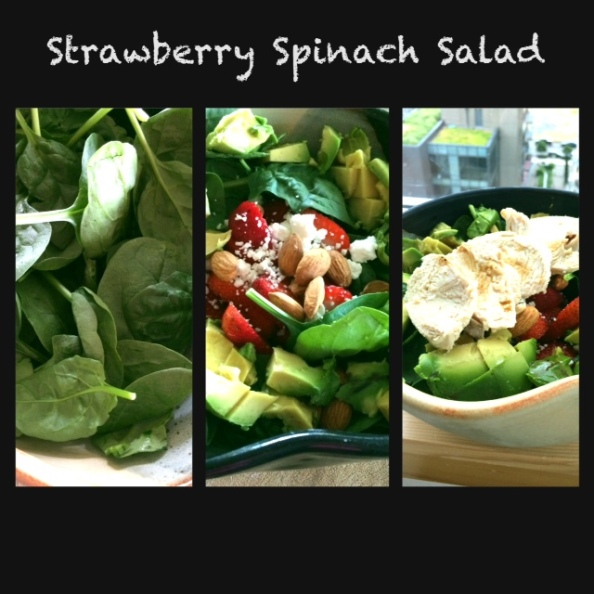Strawberry Spinach Salad - cheers3.wordpress.com