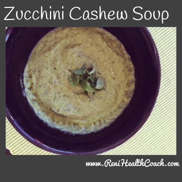 ZucchiniCashewSoup