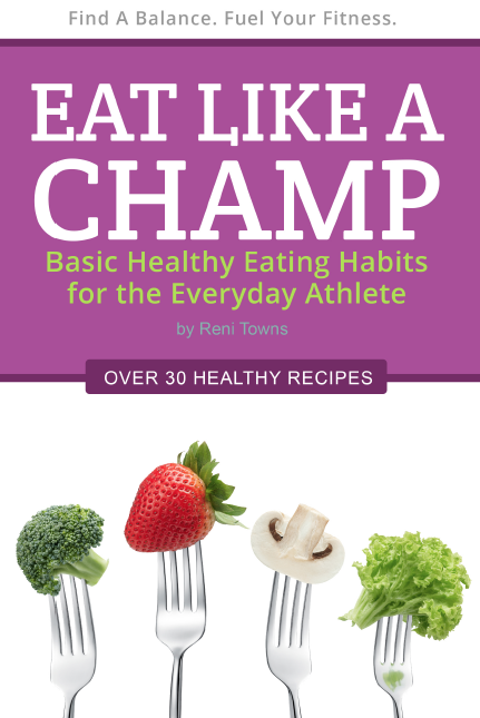 Eat Like A Champ  - Book Cover Design