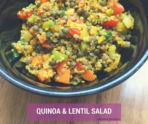 Quinoa&LentilSalad